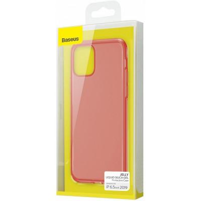 Тонкий матовый чехол Baseus Jelly Liquid Silica Gel - Apple iPhone 11 Pro Max