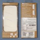 Оригинальный флип чехол книжка lenovo S820, белый цвет.