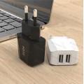 Зарядное устройство Original PZOZ quick charge 2.0, 2.1A,  (2 юсб входа) (аналог Aukey)