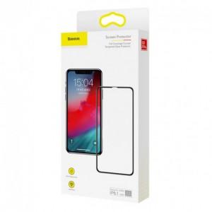 Защитное стекло Baseus 0,3 мм с полным покрытием Apple iPhone XR Black (3D)