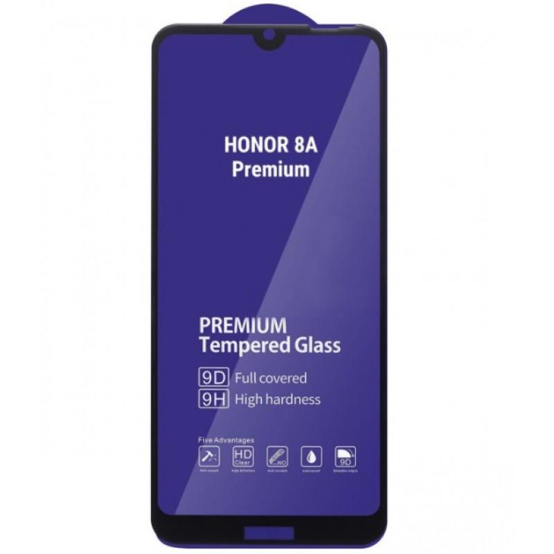 Оригинальное защитное стекло для смартфона Huawei Honor 8a (9D)