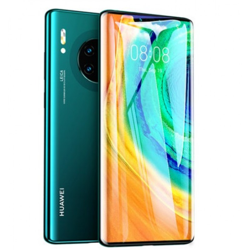 Оригинальное защитное стекло для смартфона Huawei Mate 30 Pro 2020 full curved