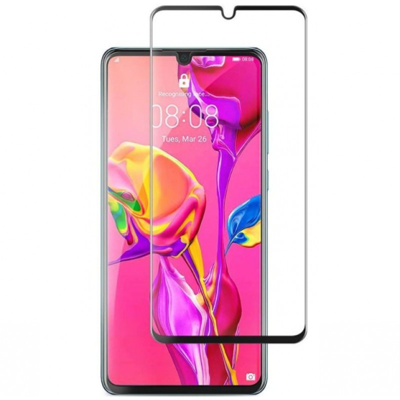 Оригинальное защитное стекло для смартфона Huawei P30 Lite (3D)