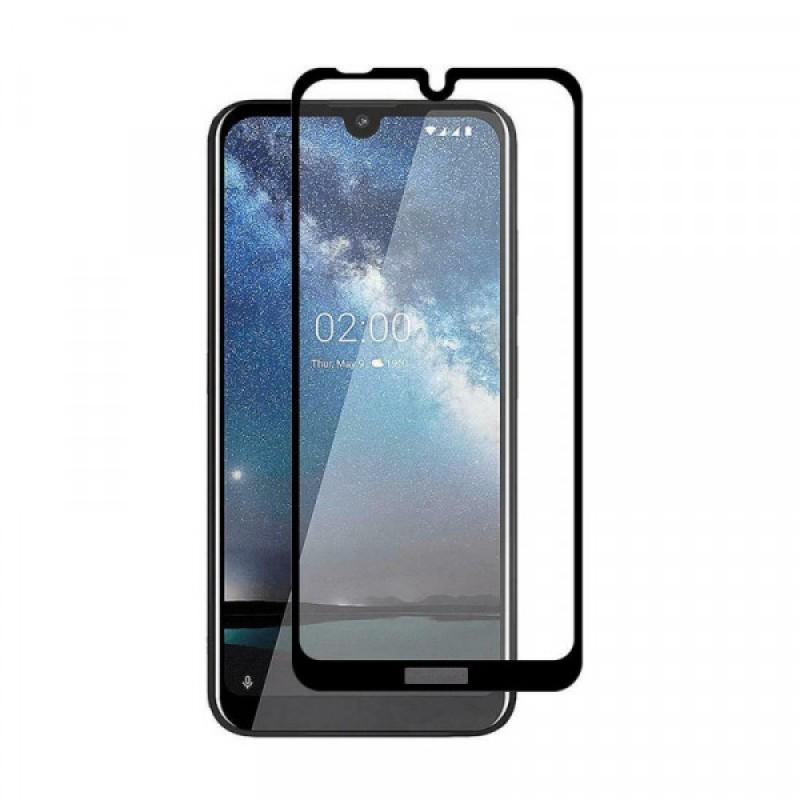 Оригинальное защитное стекло для смартфона Nokia 2.2 2019 (3D)