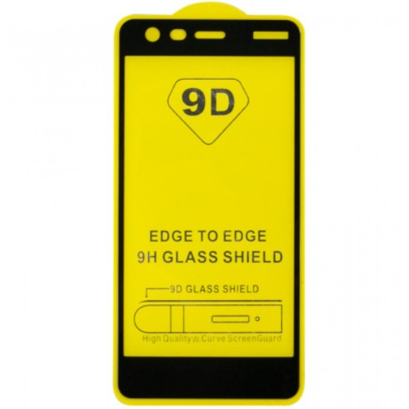 Оригинальное защитное стекло для смартфона Nokia 2 2018 (9D)