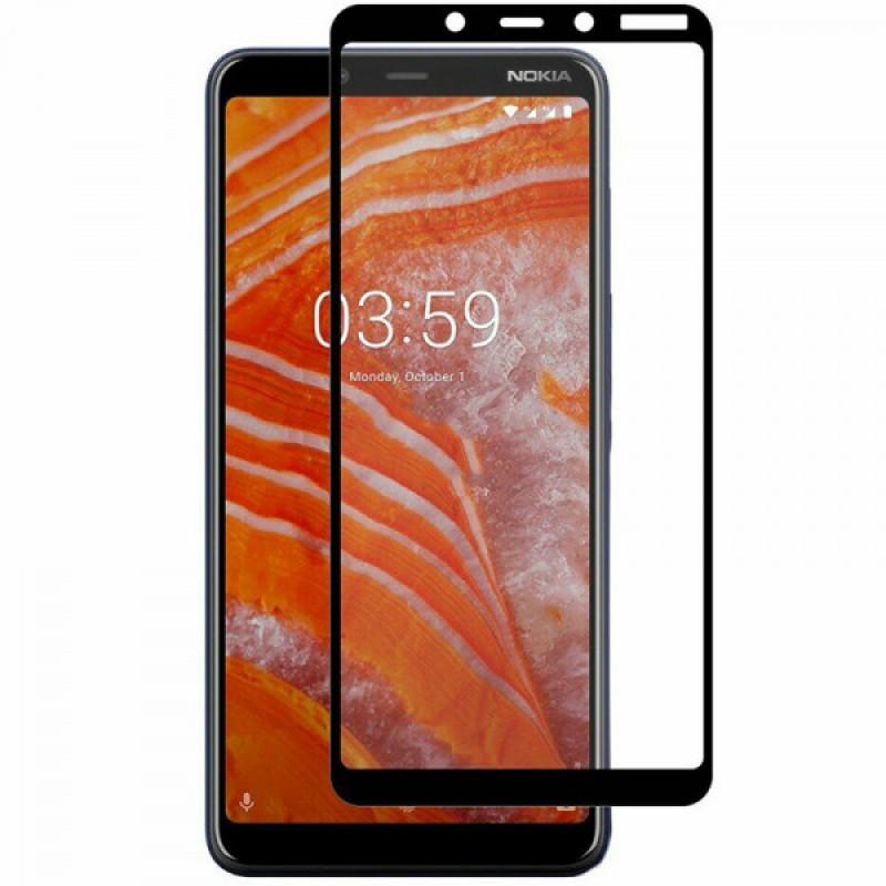 Оригинальное защитное стекло для смартфона Nokia 3.1 Plus 2019 (3D)
