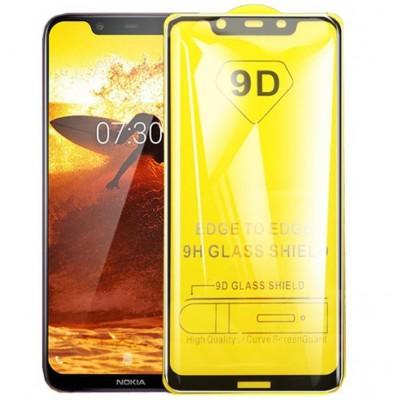 Оригинальное защитное стекло для смартфона Nokia 5.1 2019 (9D)