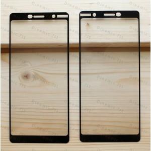 Оригинальное защитное стекло для смартфона Nokia 7 Plus (3D)
