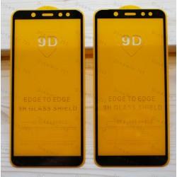 Оригинальное защитное стекло для смартфона Samsung Galaxy A6 2018 (9D)