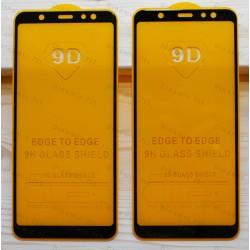 Оригинальное защитное стекло для смартфона Samsung Galaxy A6 Plus 2018 (9D)