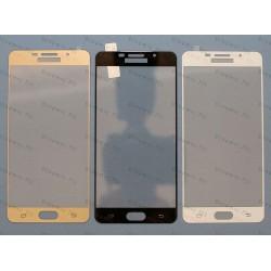 Оригинальное бронированное закаленное стекло Samsung Galaxy A7 2016 с олеофобным покрытием