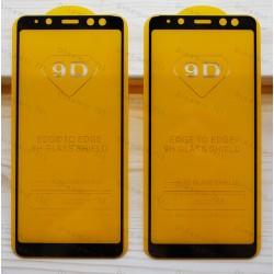 Оригинальное защитное стекло для смартфона Samsung Galaxy A8 2018 (9D)
