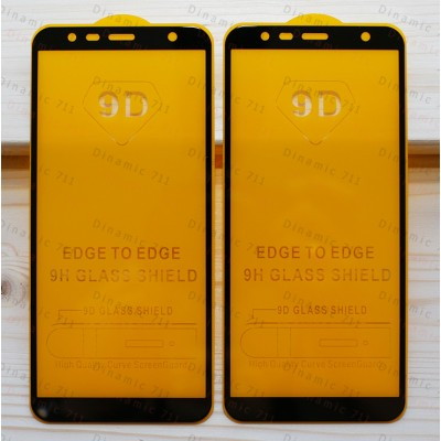 Оригинальное защитное стекло для смартфона Samsung Galaxy J4 Plus 2018 (9D)