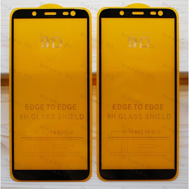 Оригинальное защитное стекло для смартфона Samsung Galaxy J6 2018 (9D)