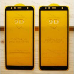 Оригинальное защитное стекло для смартфона Samsung Galaxy J6 Plus 2018 (9D)