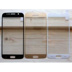 Оригинальное бронированное закаленное стекло Samsung Galaxy S6 с олеофобным покрытием - 3D
