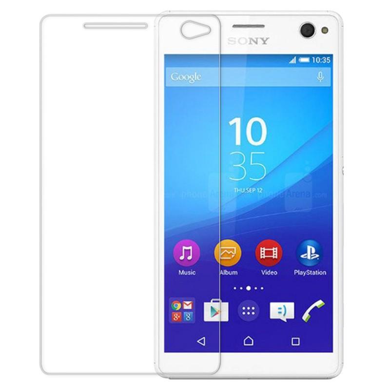 Оригинальное защитное стекло для смартфона Sony C4