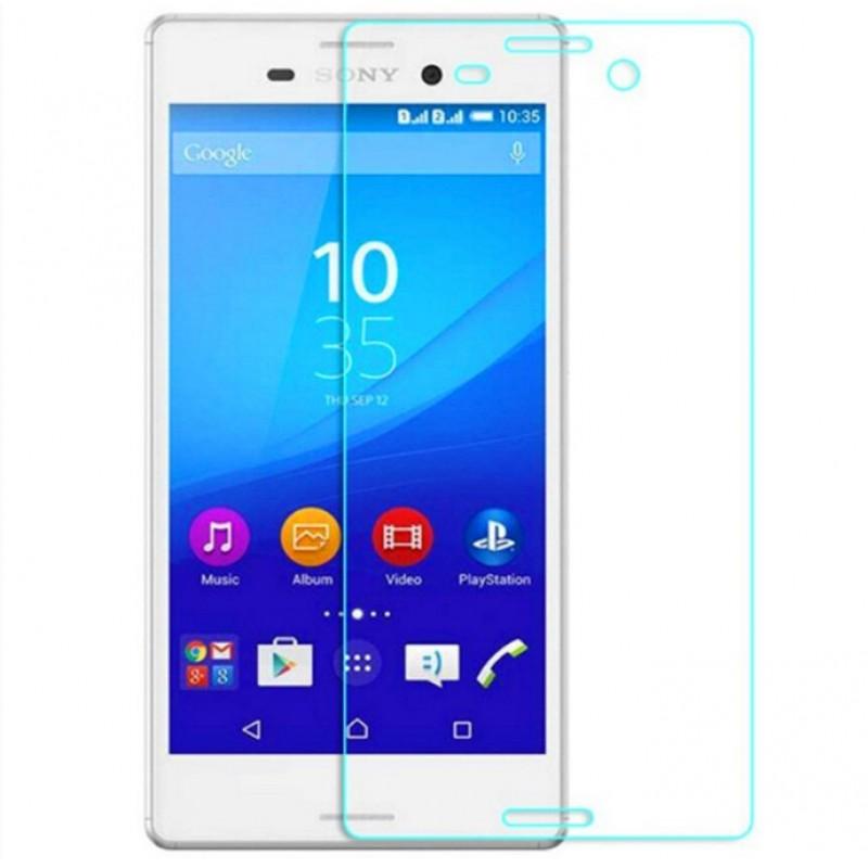 Оригинальное защитное стекло для смартфона Sony Xperia M4