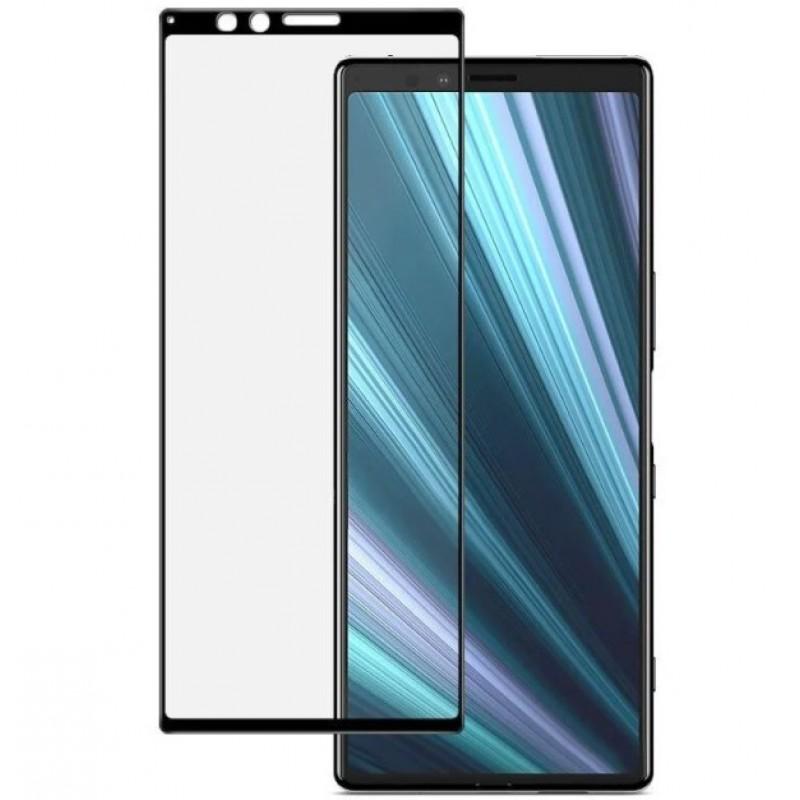 Оригинальное защитное стекло для смартфона Sony Xperia 1 J9110 (3D)