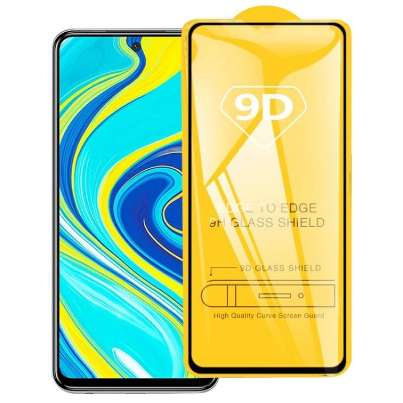 Оригинальное защитное стекло для смартфона Xiaomi Redmi Note 9 (9D)