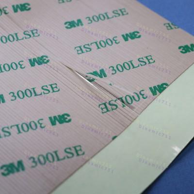 Термостойкий акриловий клей 300LSE, полоска 100х20мм
