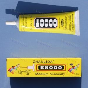 Клей герметик E8000 в тюбике вискозный 110 мл