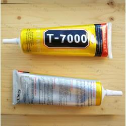 Клей герметик T7000 в тюбике черный 110 мл