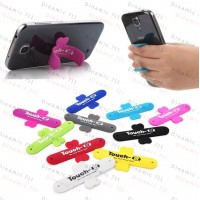 Универсальный портативный держатель для телефона - Touch silicone stand