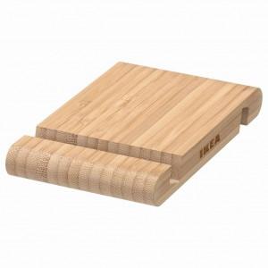 Икеа Бергенес. Бамбуковая подставка для смартфона, планшета.