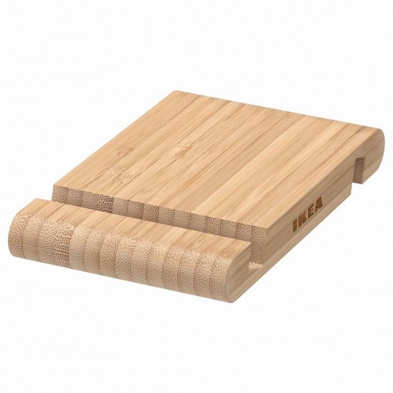 IKEA BERGENES Бамбуковая подставка для смартфона, планшета.