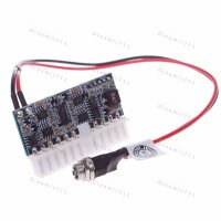 Пико ATX выключатель блока питания 160Вт 12В DC-ATX-160W  Pico ATX 24pin