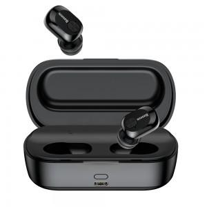 Беспроводные Bluetooth наушники с микрофоном Baseus Encok W01