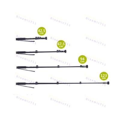 Монопод, универсальная палка селфи Модель Yun Тэнг C-188, черный цвет