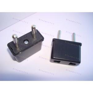 Адаптер (переходник) электрической вилки США на ЕВРО