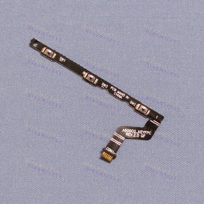 Оригинальная кнопка, шлейф для включения и выключения Asus zenfone 6 A600CG, A601CG датчик