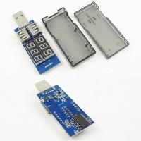 USB тестер вольтметр амперметр детектор напряжения KEWEISI KWS 5A