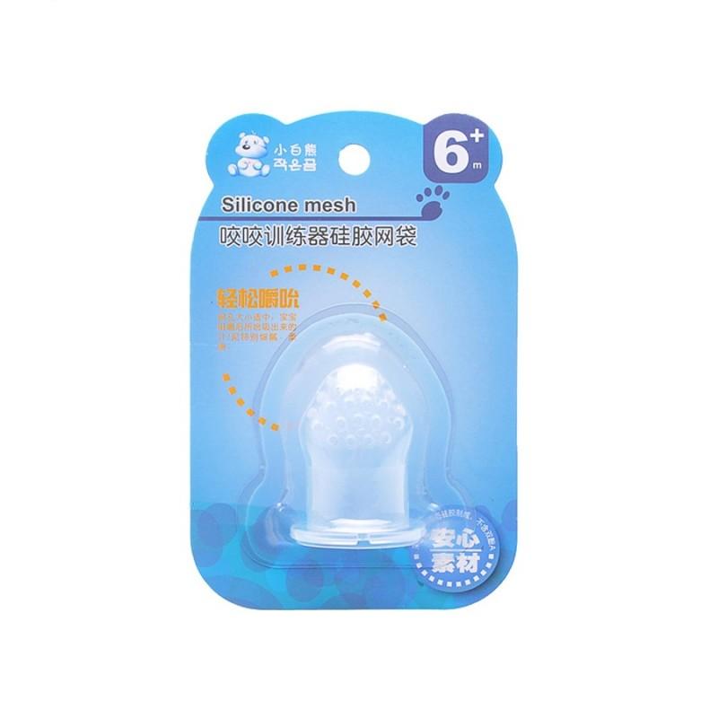 Сменная насадка на ниблер силиконовый Snow Bear (6м+)
