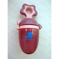 Ниблер силиконовый Snow Bear с вращающимся поршнем внутри и сменной насадкой (4м+) + (6м+)