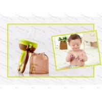 Ниблер силиконовый Bestborn с 3 насадками для маленьких детей