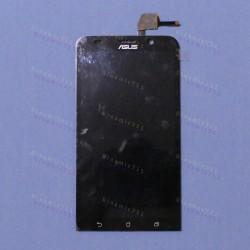 Оригинальный ЛСД экран и Тачскрин сенсор Asus zenfone 2 ZE551ML Black модуль (Уценка) #3