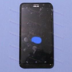 Оригинальный ЛСД экран и Тачскрин сенсор Asus zenfone 2 ZE551ML Black с рамкой модуль (Уценка) #1