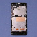 Оригинальный ЛСД экран и Тачскрин сенсор Asus zenfone 4 A450CG Black с рамкой модуль #8
