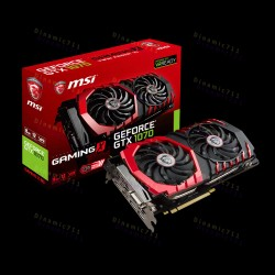Видеокарта MSI GeForce® GTX 1070 GAMING X 8G