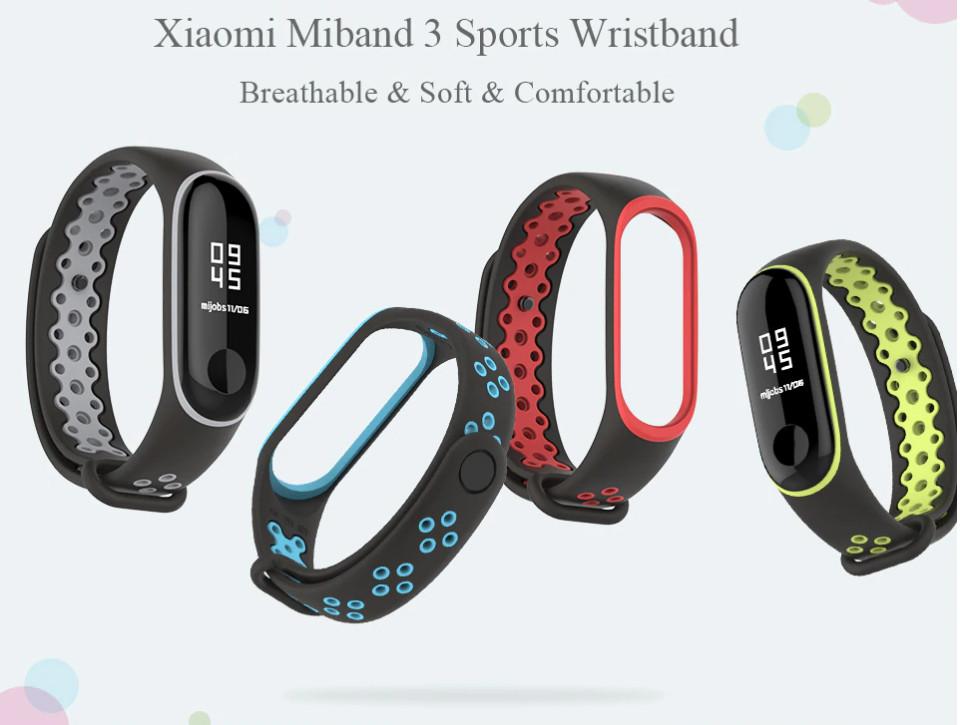 Ремешок Mi Fit для фитнес браслета - Xiaomi Mi band 3-4 (Face