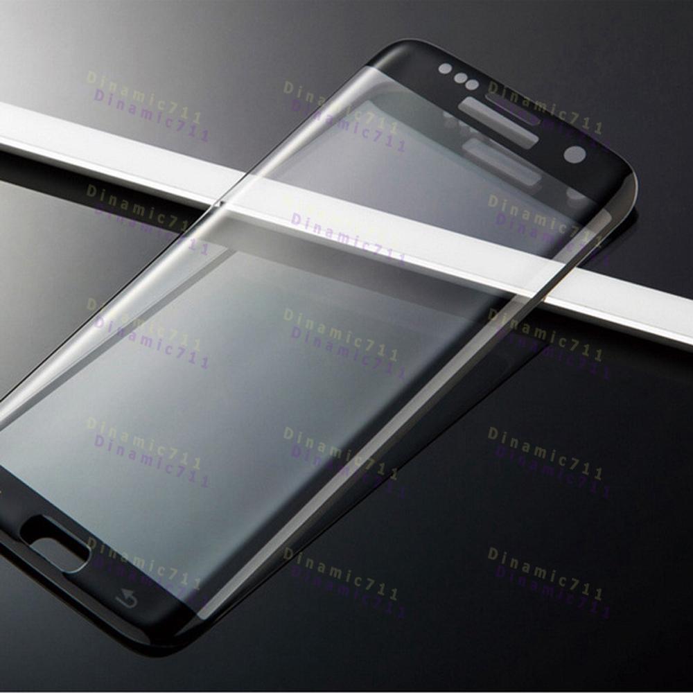 Закаленное стекло Samsung Galaxy S7 Edge DF sColor-06 Silver